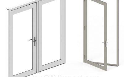 When were doors invented